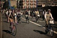 Круиз на ретро велосипедах в Киеве